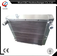 Air and oil finned customized radiator
