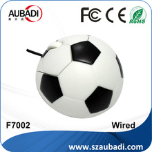 promotion gifts wired soccer ball mouse for world cup 2018