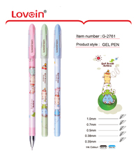 Top Grade New Promotional Unique Fancy Personalized 0.5 Student Gel Ink Pen