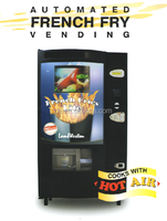 Hot Air Cook French Fry Vending Machine