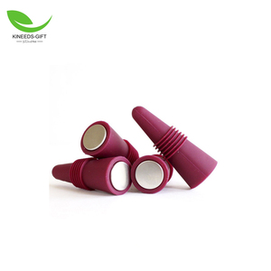 High quality eco-friendly food grade silicone rubber wine bottle stopper, silicone beer savers