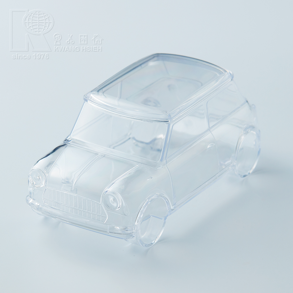 Kwang Hsieh Clear Mini Car Style Plastic Storage Container