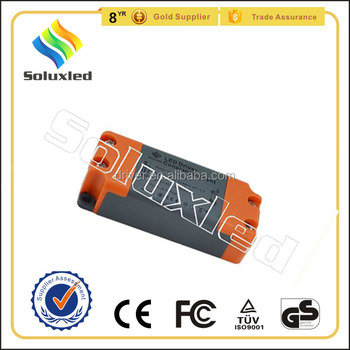 12W Constant Current LED Driver 300mA High PFC Non-stroboscopic With PC Cover For Indoor Lighting