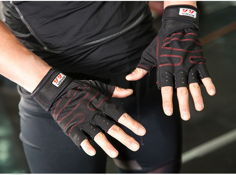 Weight Lifting Gloves Fitness Gym Training waterproof factory Gloves