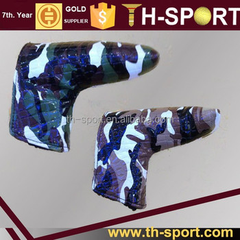 camouflage color unique putter golf head covers