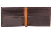 Rfid Blocking Wallet, Vintage Crazy Horse Leather Wallet For Men