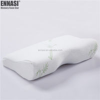 Eco-Friendly Material Health Care Foam Edge Memory Foam Chips Pillow