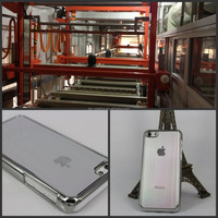plating mirror housing silver plating used phone back cover plating