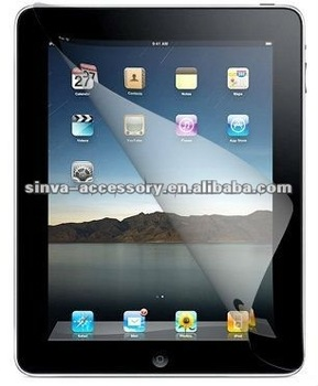Anti-fingerprint screen protector for New iPad