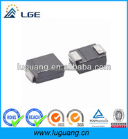 LGE TVS diodes with GPP wafer