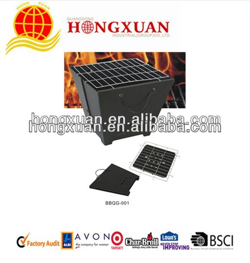 China Manufacture Foldable charcoal bbq grill
