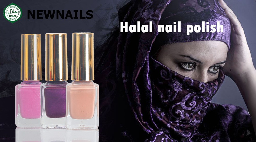 Halal nail polish private label water base permeable nail polish