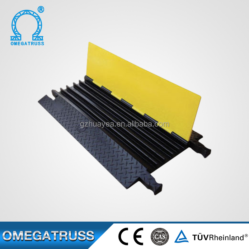 Lengths can be customized cable cover ,natural rubber cable protector