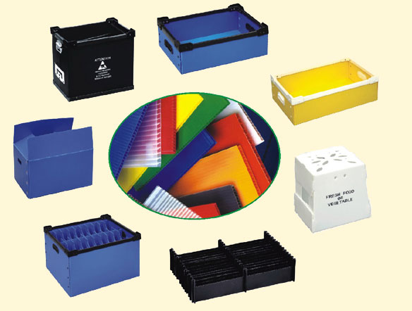 PP Board Sheet for Logistic Box in China