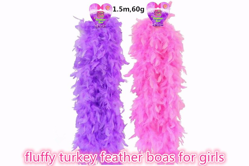 cheap curly ostrich feather boas