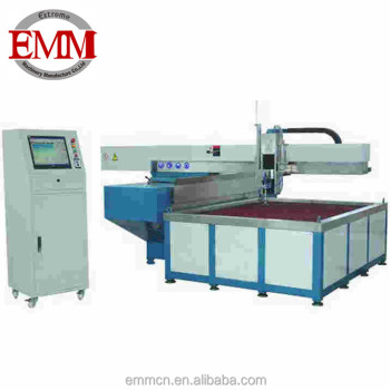 EMA2515 Water jet cutting machine glass stainless steel cutting