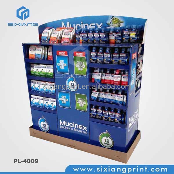 Custom pallet lots display for sale/energy drinks cardboard pallet