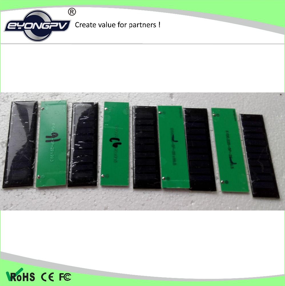 2.5W 6 Volt Solar Panel Small Solar Panel For Toys