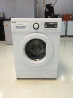 LG design 8kg fully automatic front loading washing machine / laundry machine