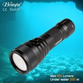 2015 new product long distance wide angle led diving flashlight