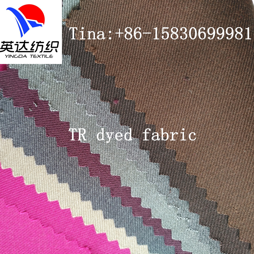 Polyester Viscose T/R uniform fabric