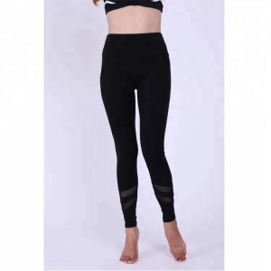 Wholesale Women High Waist Stretch Hollow Soft Seamless Compression Fitness Yoga Leggings