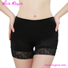 2016 New design black nylon spandex fat women belly panty girdle