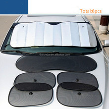 Wholesale Car Sun Shade 6pcs Per Set Car Sun Visor