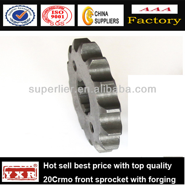 China manufacturer motorcycle spare parts ex5 motorcycle sprocket