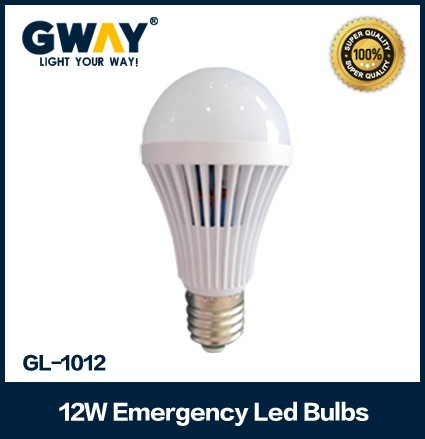 Led emergency bulb with12W power and Switching Mode Power Supply