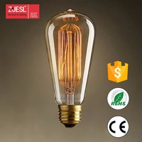 2016 best price 25/40/60w edison custom filament bulb