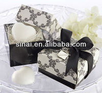 Promotion Gift Soap / Wedding White Heart Shape Scented Soap