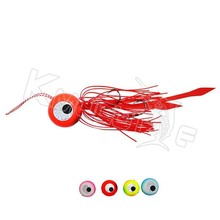 20g/40g/60g/80g/100g/120g/150g rubber jig lead head skirts fishing lures