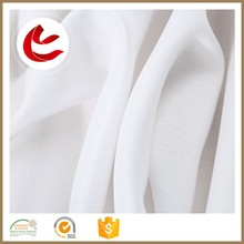 Quick-drying 150gsm water proof polyester voile peva shower curtain white fabric