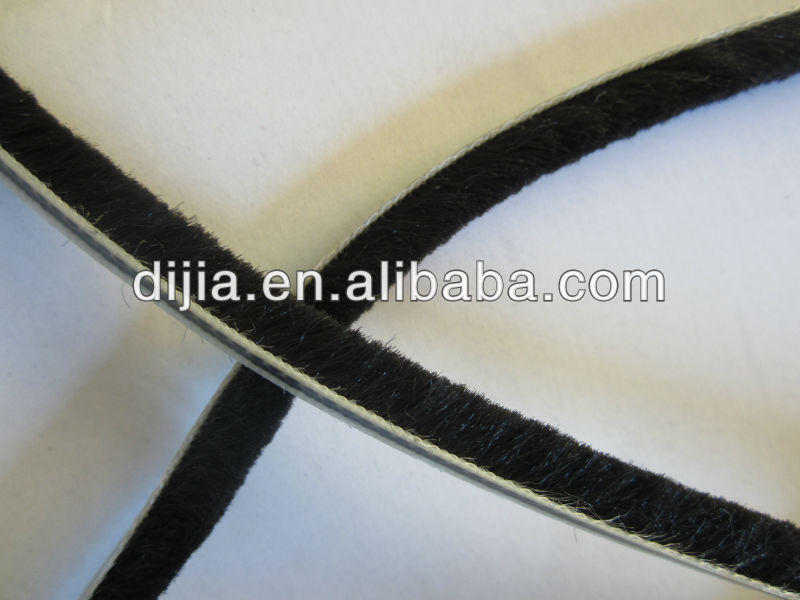High quality dust-proof mohair weatherstrip