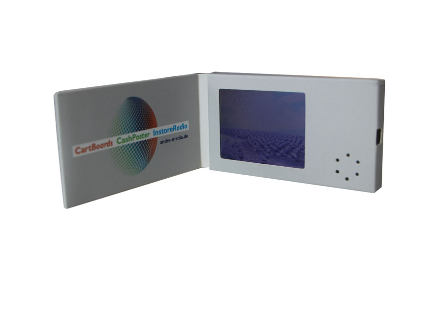factoctry price for 2.4inch video business card invitation lcd card