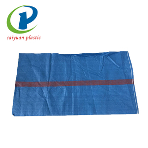Special design china blue pp woven rice bag 50kg