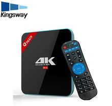 Newest Q Plus Android TV BOX 7.1 2G/16G S912 Octa-core Set Top Box Wifi Media Player better than x96 t95n