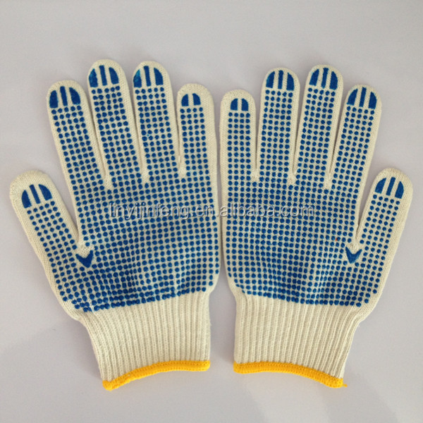 inspection equipments/ pvc dotted gloves