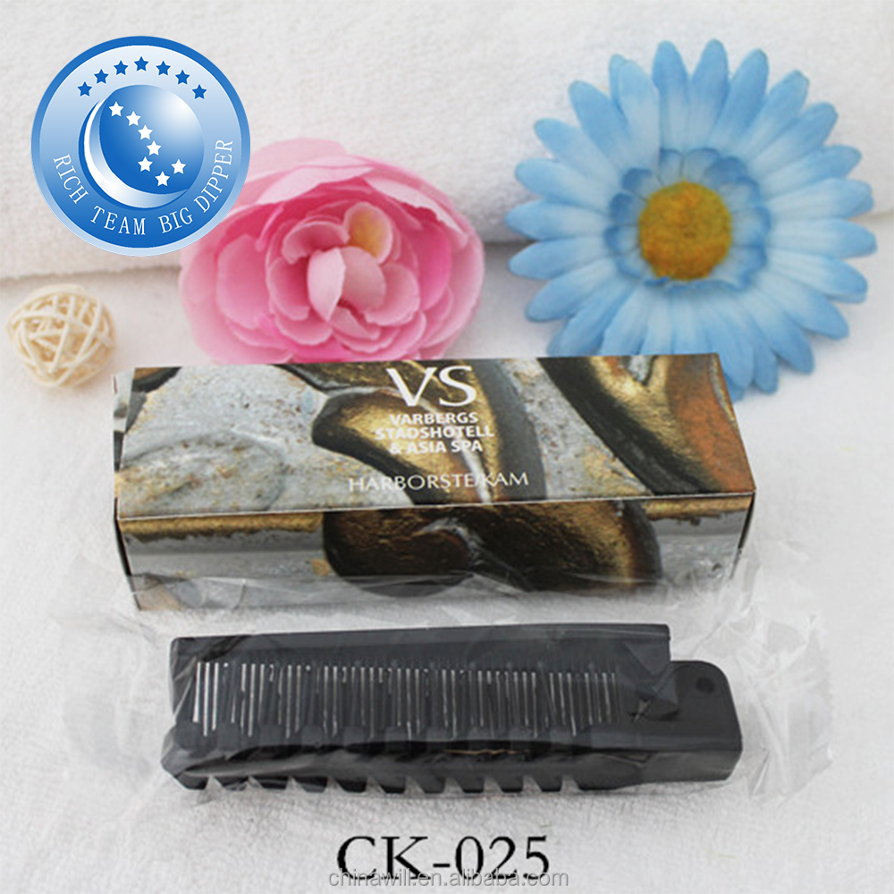 High quality personalized plastic knife comb for household or hotel
