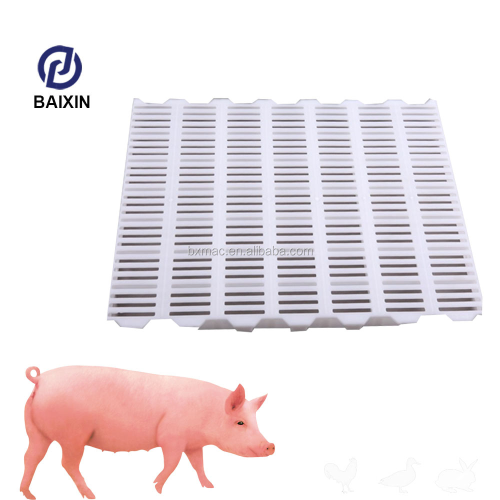 China Supplier Plastic Slatted Flooring For Pig Poultry Farm