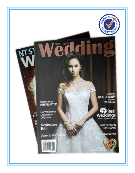 High Quality Colour glossy magazine printing