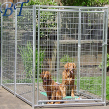 Esay to install galvanized pet cage/welded dog run fence/ beautiful design dog kennel