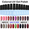 2014 HOT nail art Colored UV Gel Polish,15ml/1KG soak off/ON-Step soack off color uv gels,120 fashion colors NO. 73-96
