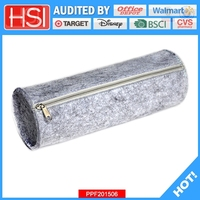 BSCI audited bulk stock felt pencil case
