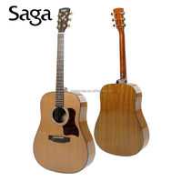 promotional guitar with high quality and good craftsmanship ,SAGA - DS18