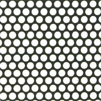 punching hole perforated plate mesh