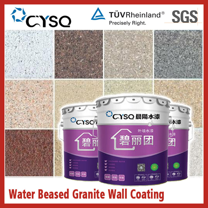 Water based granite liquid paints