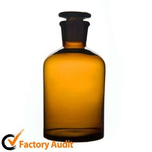 High quality different types lab glass reagent bottle