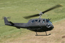 Upgraded Iroquois Helicopter UH-1H (SW 205, better than Bell 205)